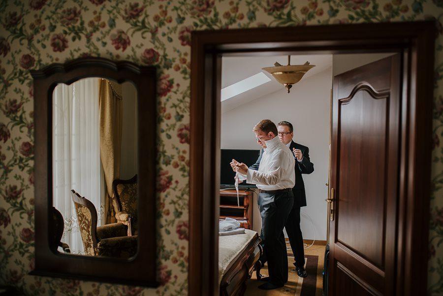 Piękny, wzruszający ślub - Dworek BINKOWSKI Kielce 16