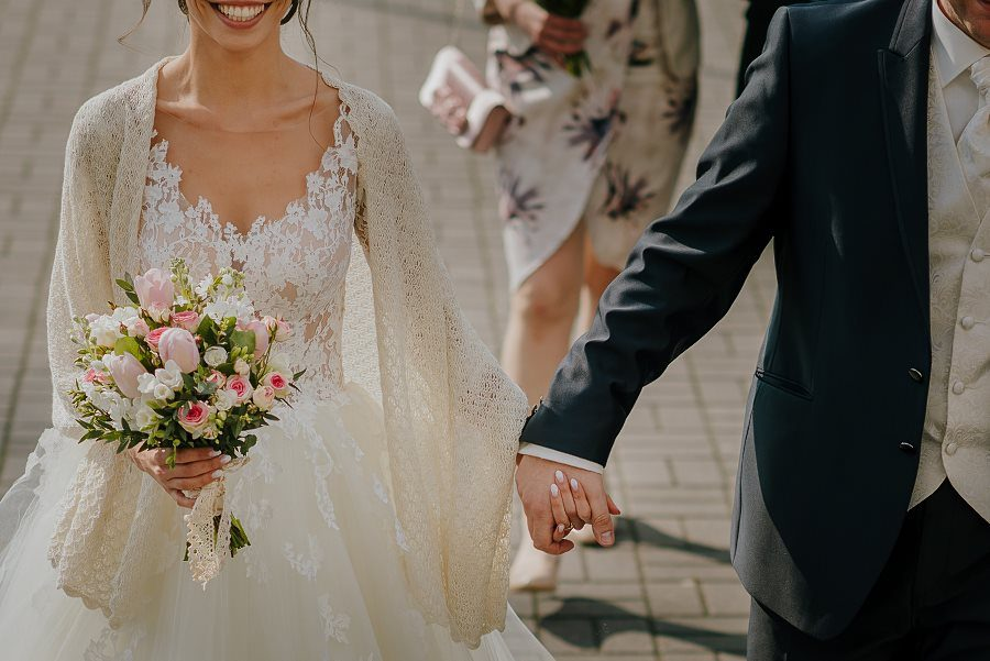 Piękny, wzruszający ślub - Dworek BINKOWSKI Kielce 44