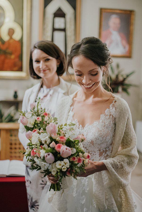 Piękny, wzruszający ślub - Dworek BINKOWSKI Kielce 45