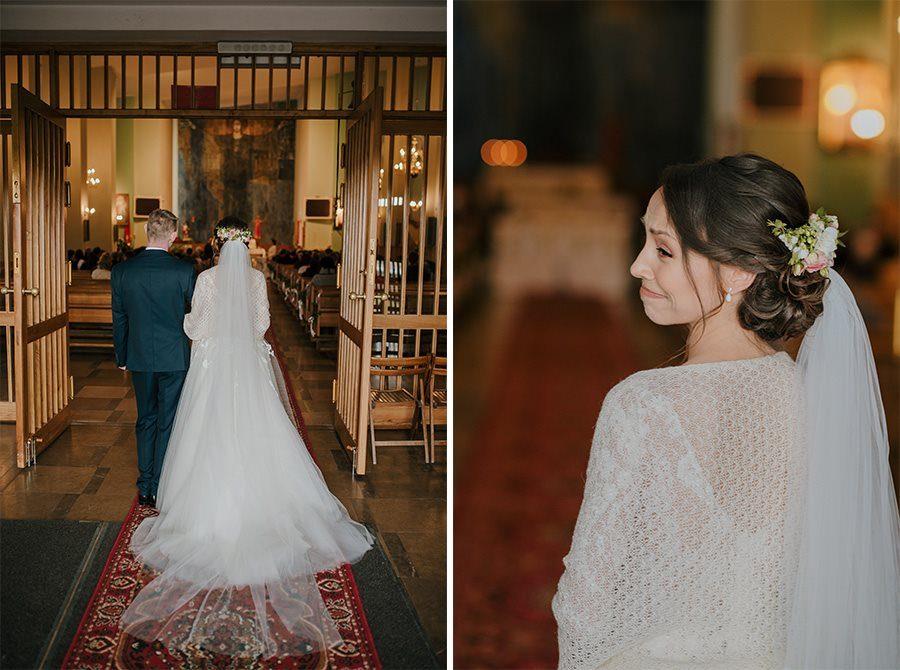 Piękny, wzruszający ślub - Dworek BINKOWSKI Kielce 48