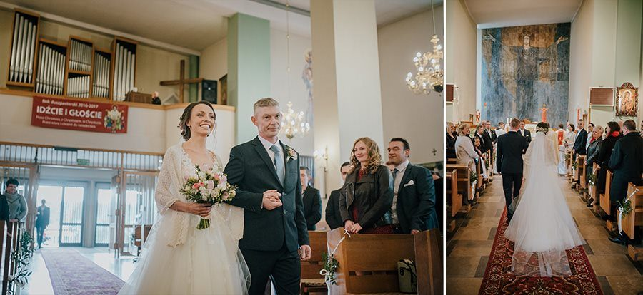 Piękny, wzruszający ślub - Dworek BINKOWSKI Kielce 50