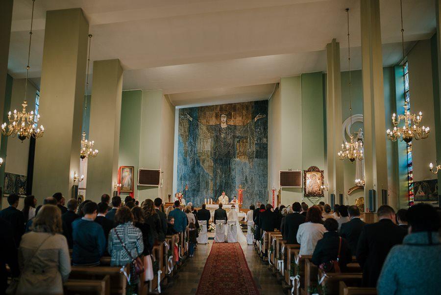 Piękny, wzruszający ślub - Dworek BINKOWSKI Kielce 54