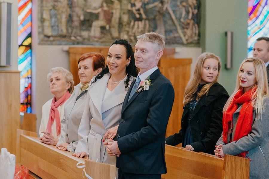 Piękny, wzruszający ślub - Dworek BINKOWSKI Kielce 63