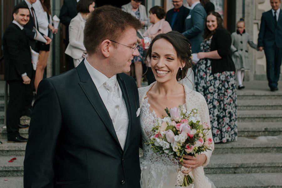 Piękny, wzruszający ślub - Dworek BINKOWSKI Kielce 79
