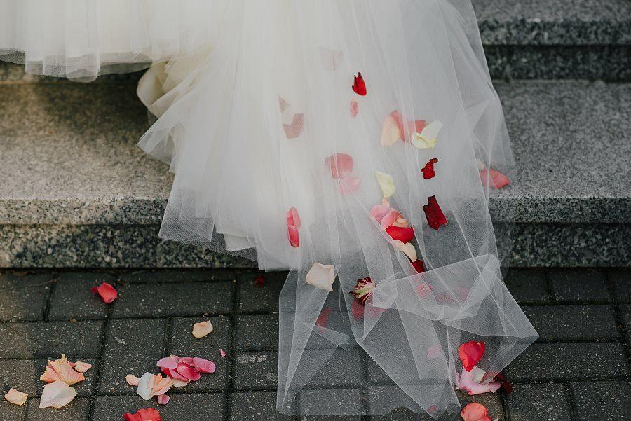 Piękny, wzruszający ślub - Dworek BINKOWSKI Kielce 80