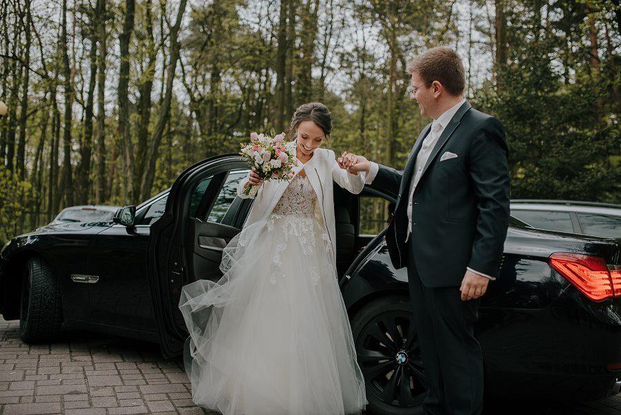 Piękny, wzruszający ślub - Dworek BINKOWSKI Kielce 85