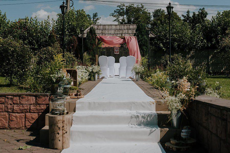 Plenerowy ślub w Kielcach - Dworek w Masłowie 172