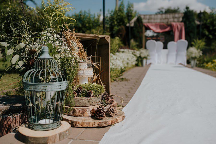 Plenerowy ślub w Kielcach - Dworek w Masłowie 173