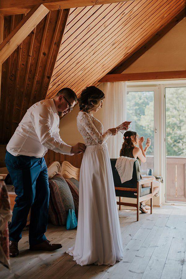 Plenerowy ślub w Kielcach - Dworek w Masłowie 193
