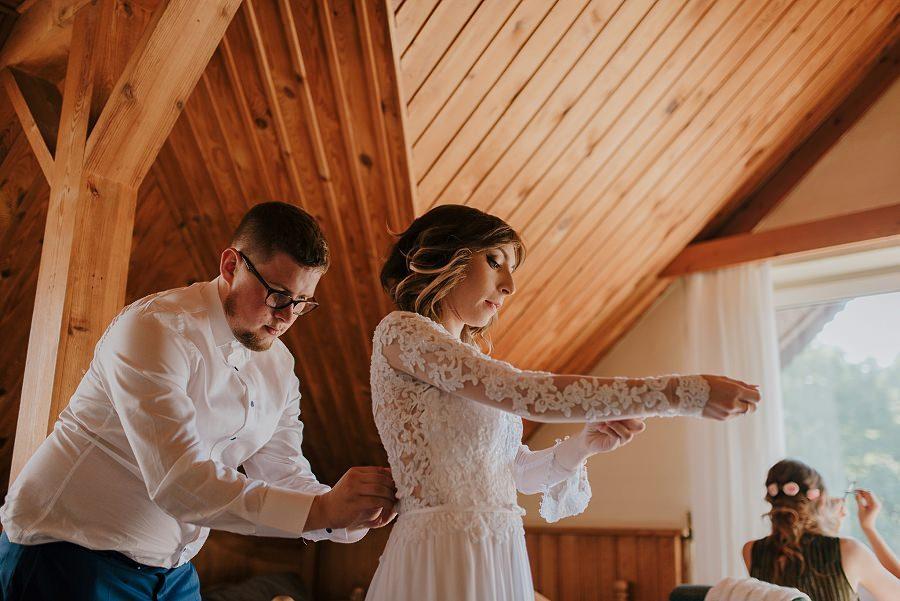 Plenerowy ślub w Kielcach - Dworek w Masłowie 195