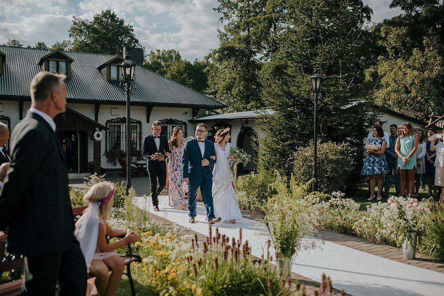 Plenerowy ślub w Kielcach - Dworek w Masłowie 210