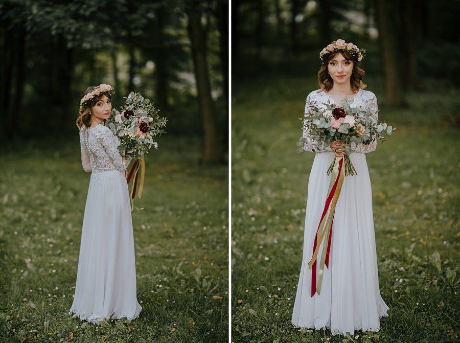 Plenerowy ślub w Kielcach - Dworek w Masłowie 228