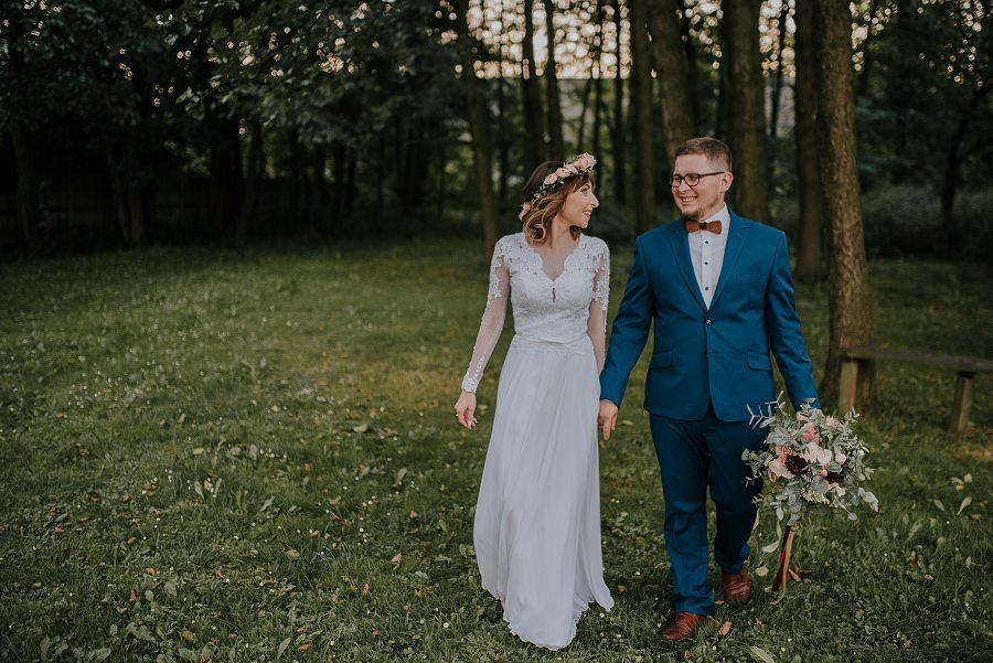 Plenerowy ślub w Kielcach - Dworek w Masłowie 233