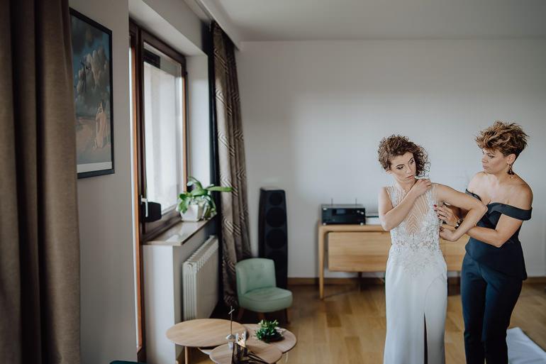 Martyna i Mirek - fotografia ślubna - Hotel Uroczysko - Kielce 12