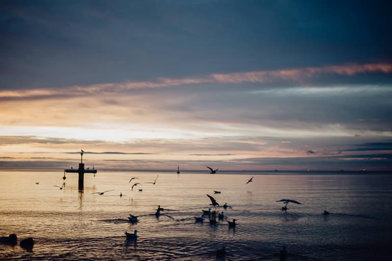 Ada & Kuba - sesja narzeczeńska nad morzem - Klif w Orłowie - Gdynia 7