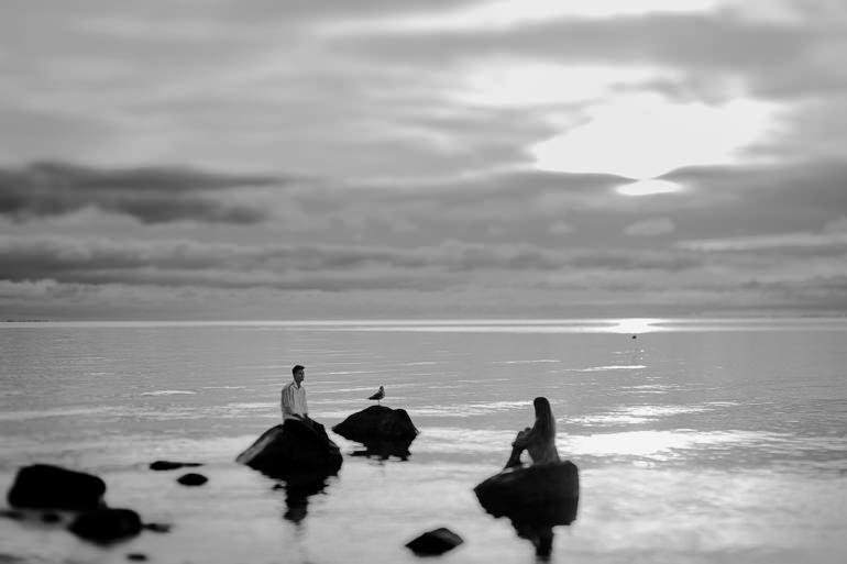 Ada & Kuba - sesja narzeczeńska nad morzem - Klif w Orłowie - Gdynia 33