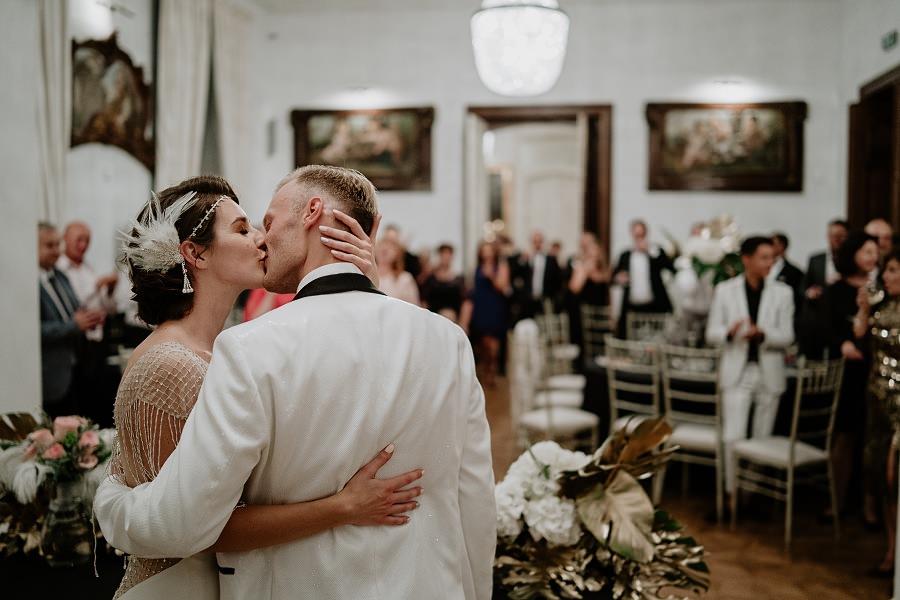 Ślub w stylu Wielkiego Gatsby - Wesele Pałac Goetz 67
