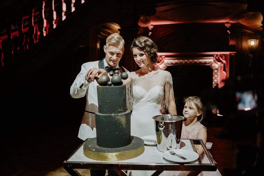 Ślub w stylu Wielkiego Gatsby - Wesele Pałac Goetz 72
