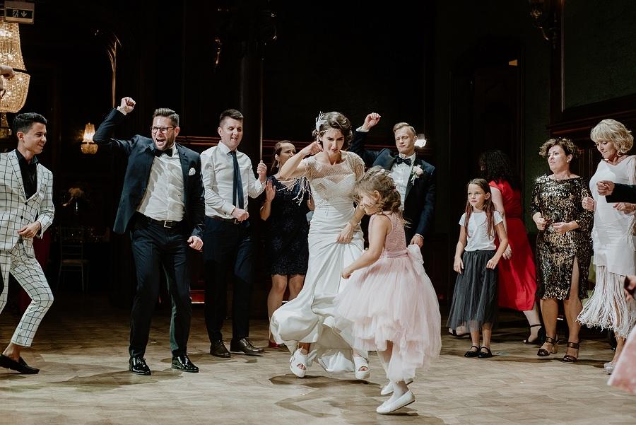 Ślub w stylu Wielkiego Gatsby - Wesele Pałac Goetz 80