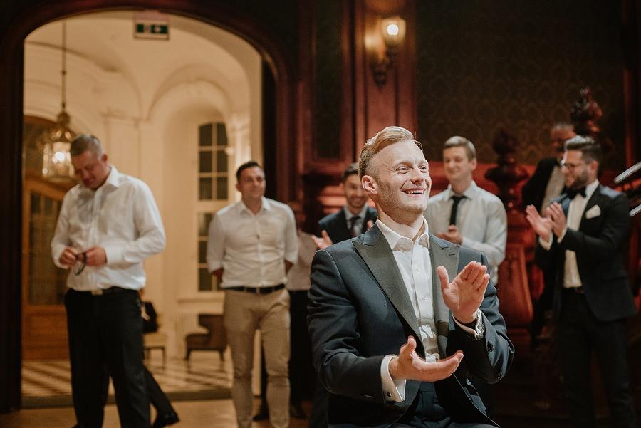 Ślub w stylu Wielkiego Gatsby - Wesele Pałac Goetz 85
