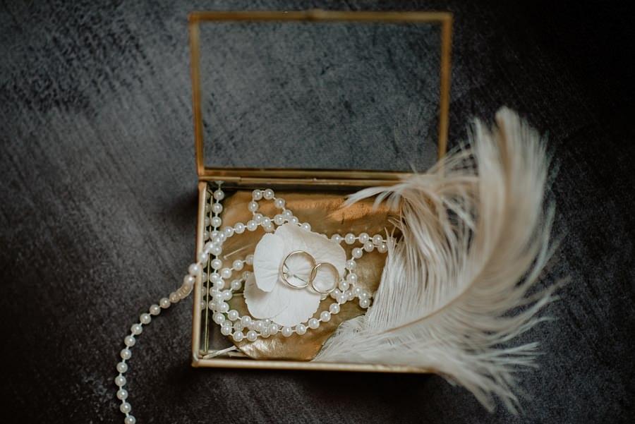 Ślub w stylu Wielkiego Gatsby - Wesele Pałac Goetz 9