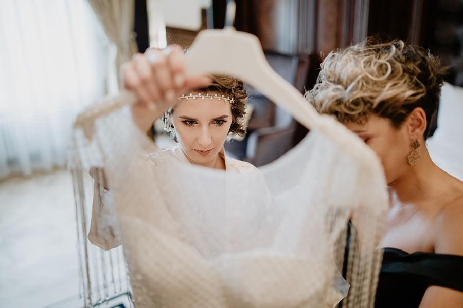 Ślub w stylu Wielkiego Gatsby - Wesele Pałac Goetz 11