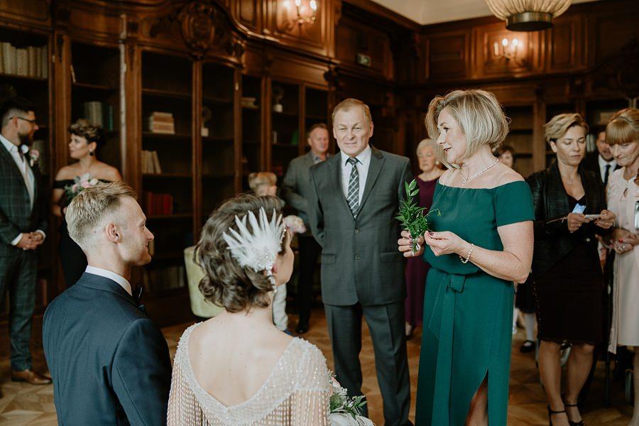 Ślub w stylu Wielkiego Gatsby - Wesele Pałac Goetz 16