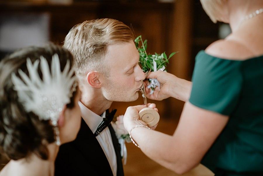 Ślub w stylu Wielkiego Gatsby - Wesele Pałac Goetz 17