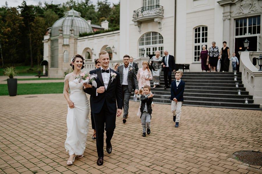 Ślub w stylu Wielkiego Gatsby - Wesele Pałac Goetz 21