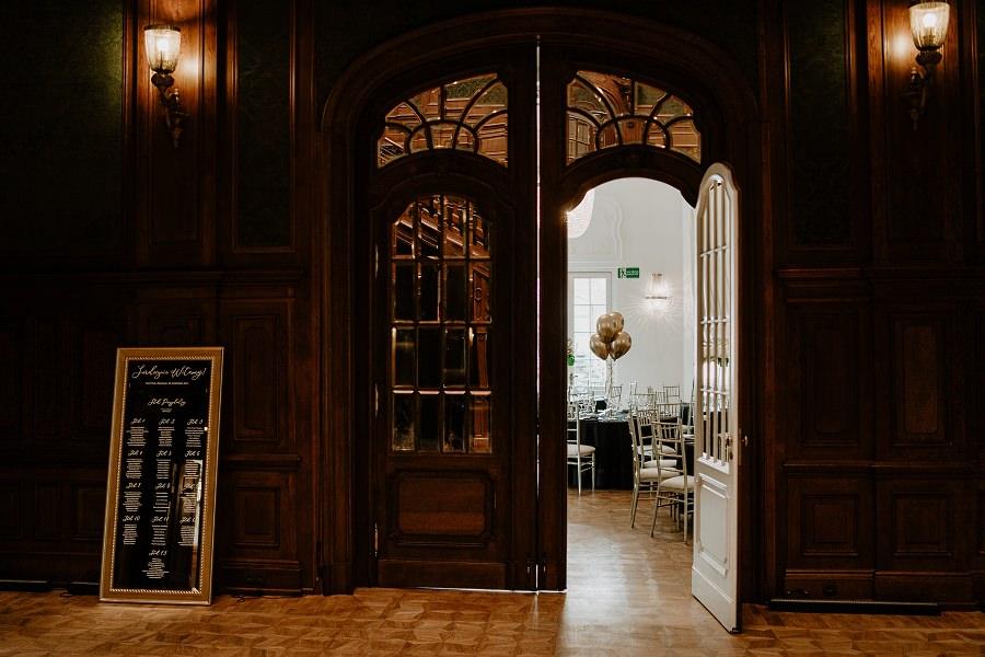 Ślub w stylu Wielkiego Gatsby - Wesele Pałac Goetz 1
