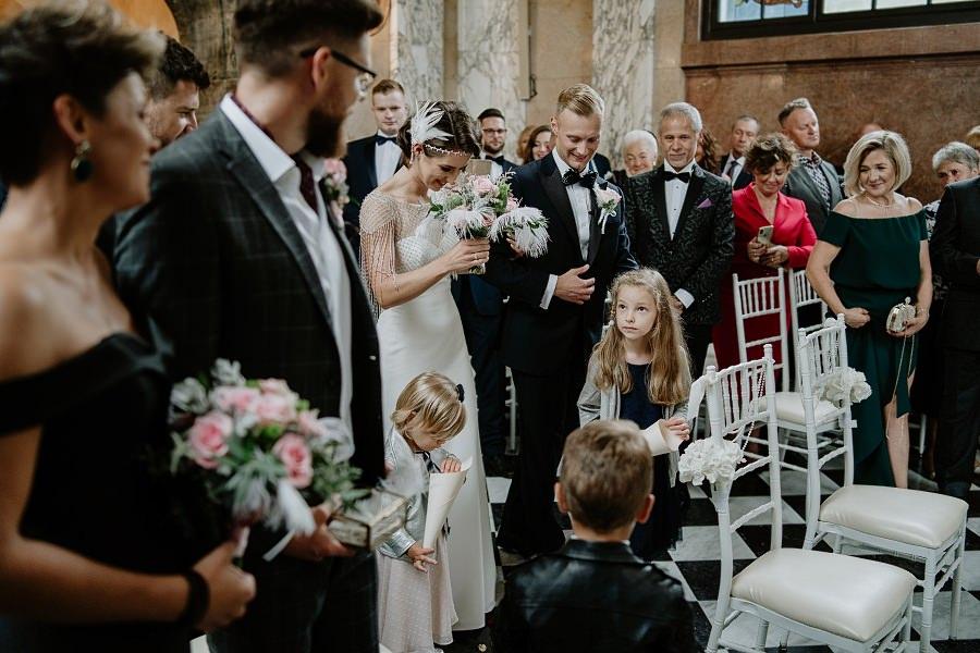 Ślub w stylu Wielkiego Gatsby - Wesele Pałac Goetz 23