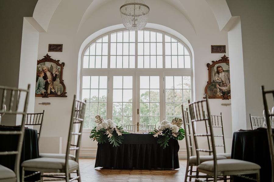 Ślub w stylu Wielkiego Gatsby - Wesele Pałac Goetz 2