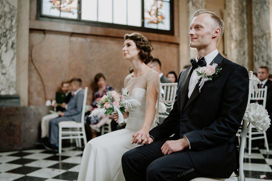 Ślub w stylu Wielkiego Gatsby - Wesele Pałac Goetz 35