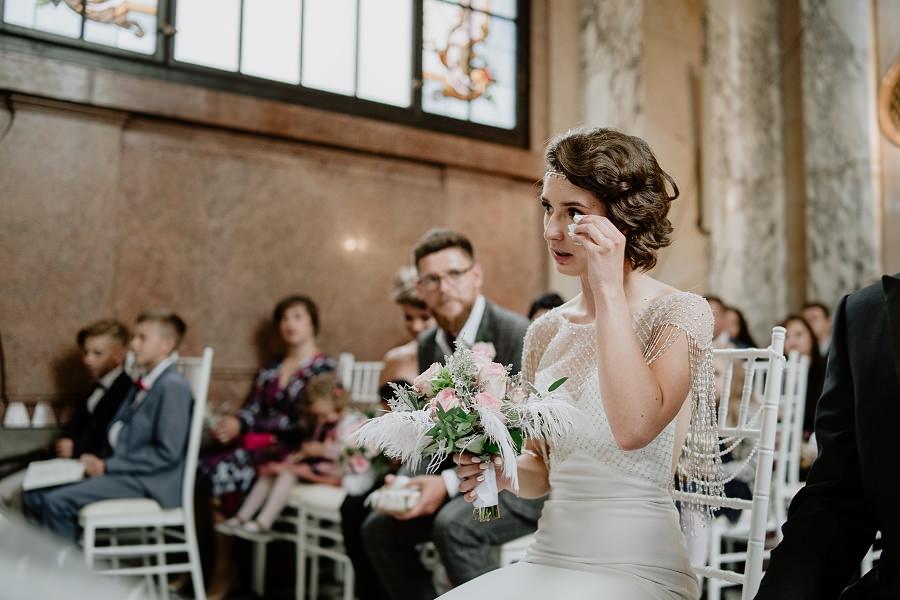 Ślub w stylu Wielkiego Gatsby - Wesele Pałac Goetz 36