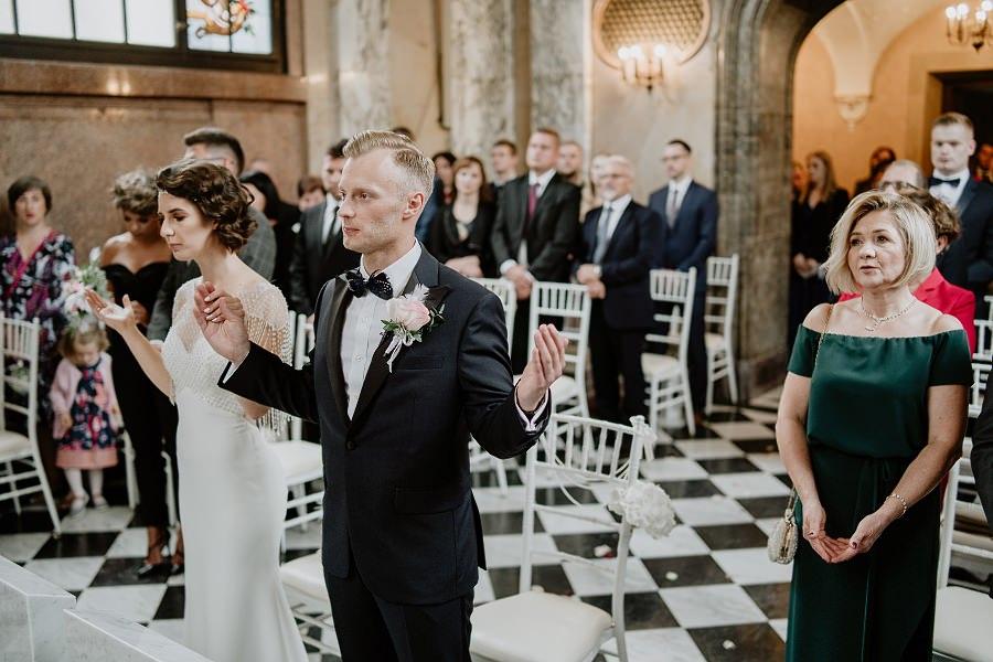 Ślub w stylu Wielkiego Gatsby - Wesele Pałac Goetz 38