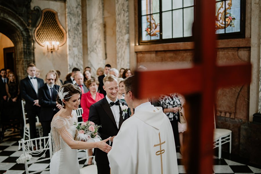 Ślub w stylu Wielkiego Gatsby - Wesele Pałac Goetz 41