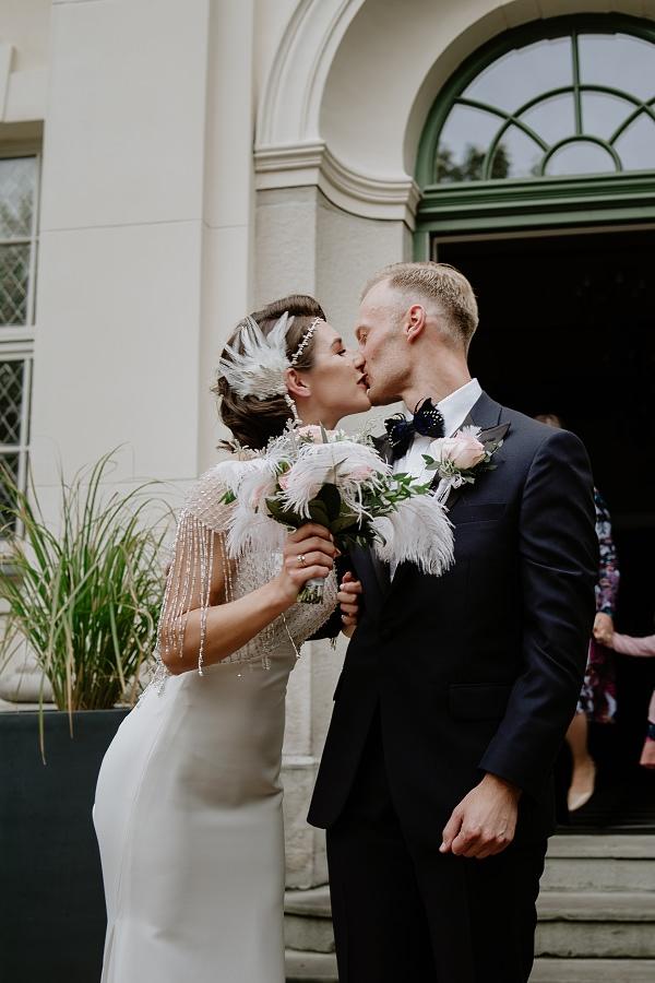 Ślub w stylu Wielkiego Gatsby - Wesele Pałac Goetz 43