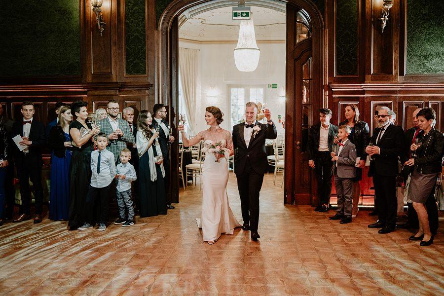 Ślub w stylu Wielkiego Gatsby - Wesele Pałac Goetz 46