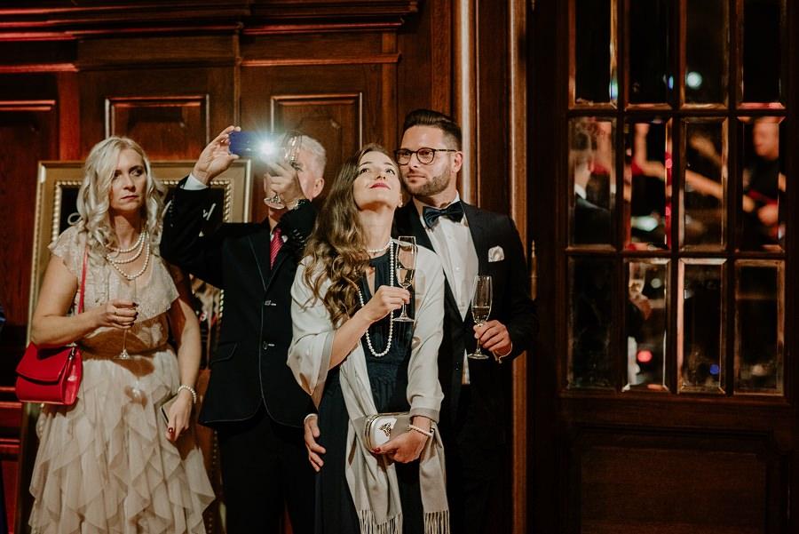 Ślub w stylu Wielkiego Gatsby - Wesele Pałac Goetz 47