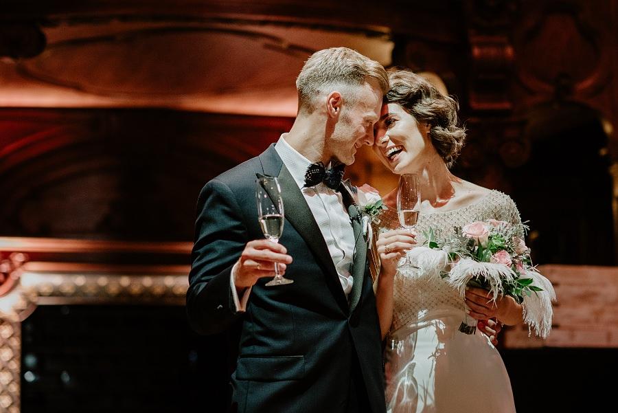 Ślub w stylu Wielkiego Gatsby - Wesele Pałac Goetz 49