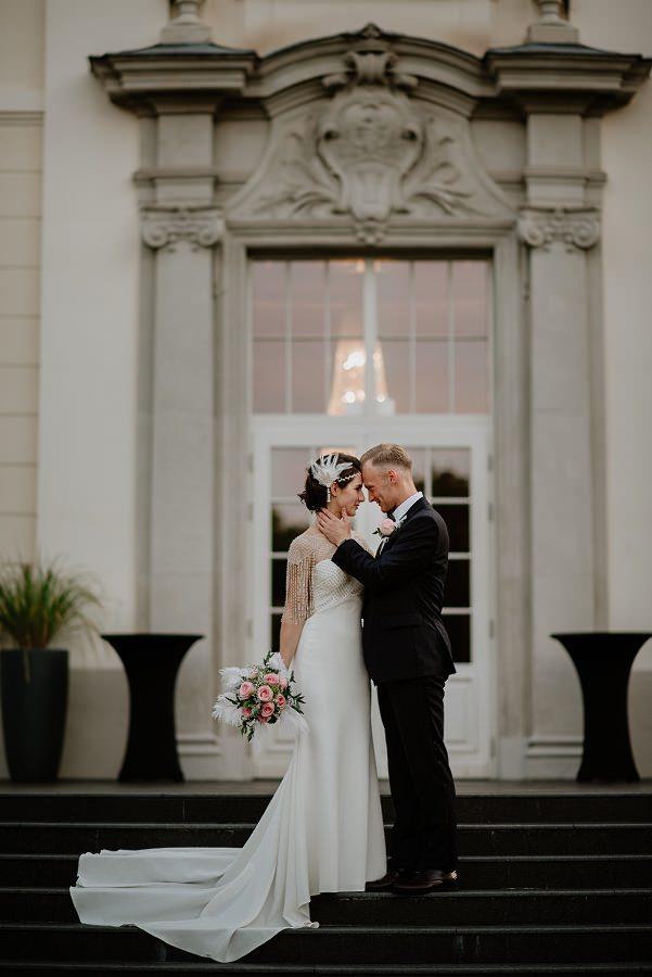 Ślub w stylu Wielkiego Gatsby - Wesele Pałac Goetz 55
