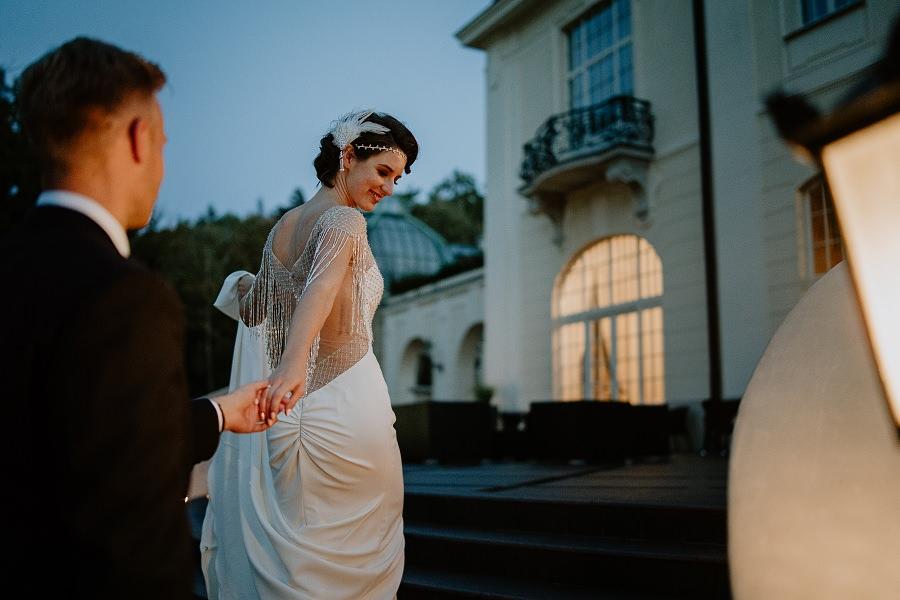 Ślub w stylu Wielkiego Gatsby - Wesele Pałac Goetz 57
