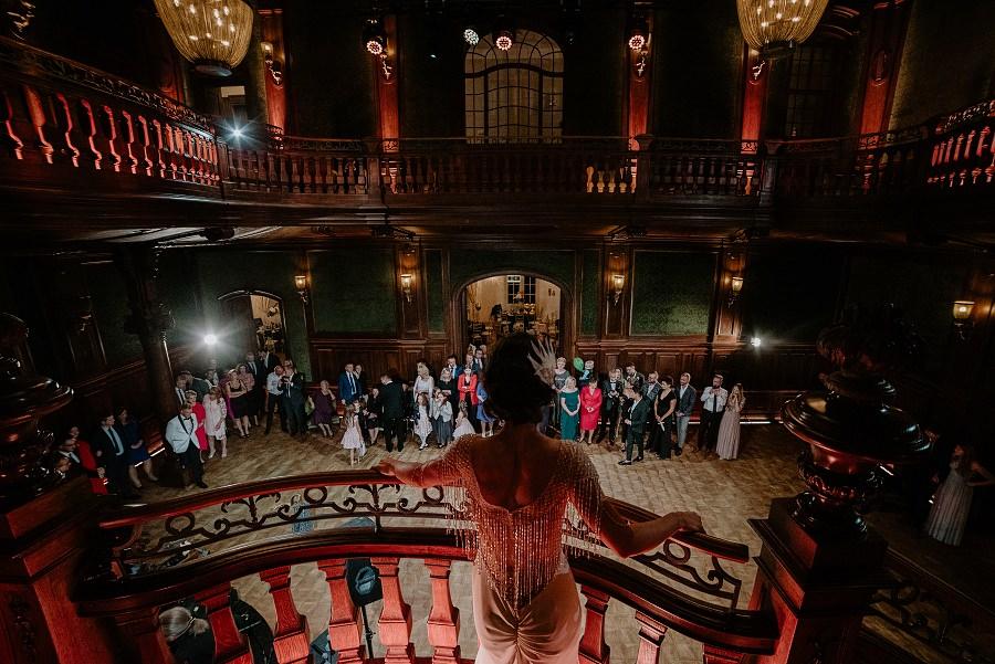 Ślub w stylu Wielkiego Gatsby - Wesele Pałac Goetz 62