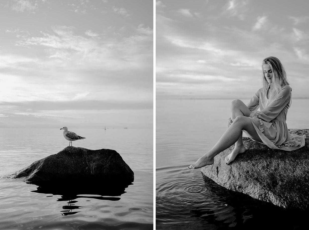 Ada & Kuba - sesja narzeczeńska nad morzem - Klif w Orłowie - Gdynia 28